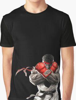 Ryu Street Fighter V artwork t-shirt Graphic T-Shirt