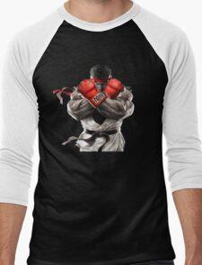 Ryu Street Fighter V artwork t-shirt Men's Baseball ¾ T-Shirt