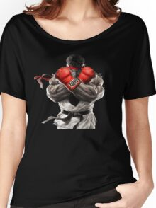 Ryu Street Fighter V artwork t-shirt Women's Relaxed Fit T-Shirt