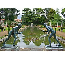 Italian Garden, Compton Acres Photographic Print