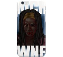 mich-owned white text iPhone Case/Skin