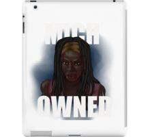 mich-owned white text iPad Case/Skin
