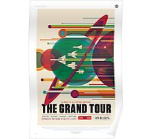 The Grand Tour of the Solar System - NASA Space Tourism Poster