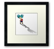 Angry Chibi Framed Print
