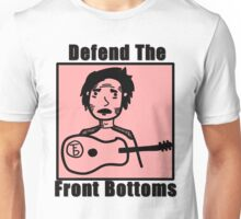 Uncomfortabletoon: defend the front bottoms Unisex T-Shirt