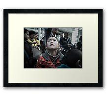 Defiantly Framed Print
