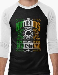 Conor Mcgregor - Go To War Men's Baseball ¾ T-Shirt