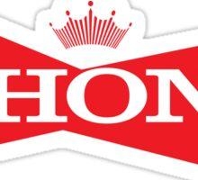Phony Budweiser Sticker