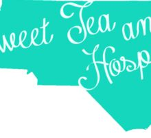 Sweet Tea and Hospitality Sticker