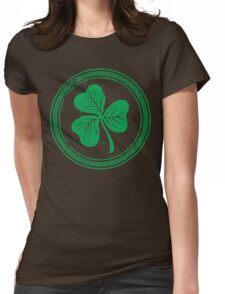 Clover & Braid - light green Womens Fitted T-Shirt