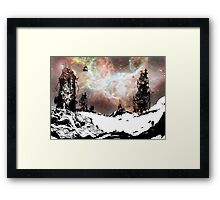 Snow City Framed Print