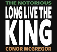 Conor Mcgregor, Long Live The King Kids Tee