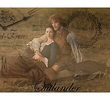 Outlander/Jamie and Claire Fraser Photographic Print