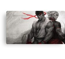 Ryu Ken Canvas Print