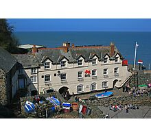 Red Lion, Clovelly Photographic Print