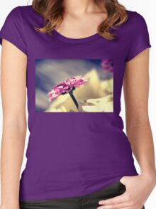 Standing out  Women's Fitted Scoop T-Shirt
