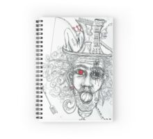 A spot of madness Spiral Notebook