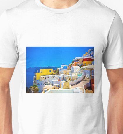 Famous Santorini Unisex T-Shirt