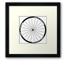 Mavic Ellipse Wheels Framed Print