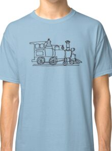 Train Doodl Classic T-Shirt