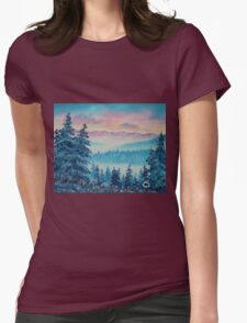 Rising Above Womens Fitted T-Shirt