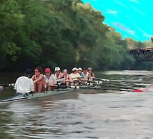 Rowing Series A  by gretassister