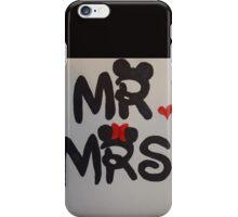 Mr and Mrs design iPhone Case/Skin