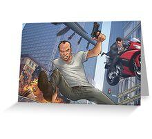 GTA 5 Artwork  Greeting Card