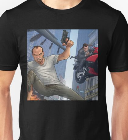 GTA 5 Artwork  Unisex T-Shirt