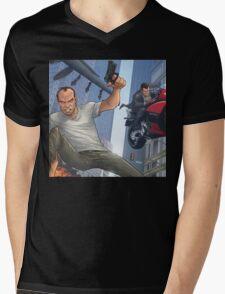 GTA 5 Artwork  Mens V-Neck T-Shirt