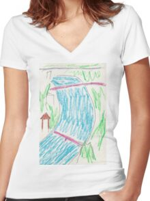 Aare Women's Fitted V-Neck T-Shirt