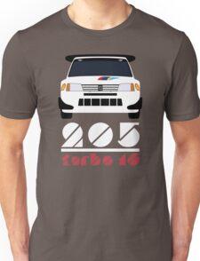 Peugeot 205 T16 Unisex T-Shirt