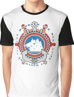 Rough sea Smooth sails Graphic T-Shirt