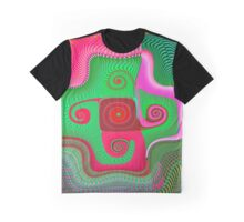 Luminous 11 Fine Fractal Art Graphic T-Shirt