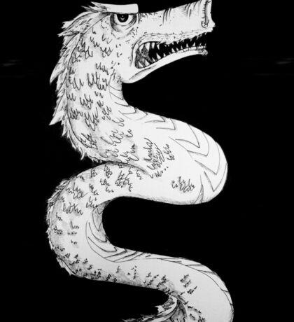 Dragon in Ink Sticker
