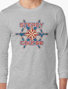 Steady course Long Sleeve T-Shirt