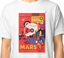Visit the Historic Sites of Mars Classic T-Shirt