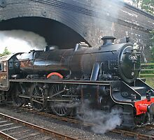 Black Five at Weybourne by RedHillDigital