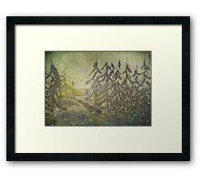 North Wind Calls Framed Print