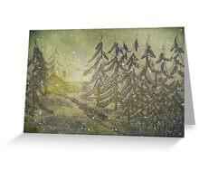 North Wind Calls Greeting Card