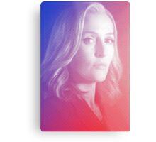 X-files Dana Scully sticker Metal Print