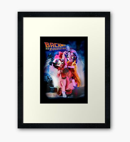 Back to Equestria Framed Print