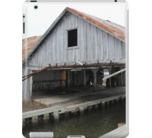 An Abandon Oyster Shed, Maryland iPad Case/Skin