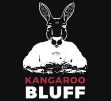 Smart Kangaroo Bluff Poker Game Playing Vector Face Kids Tee