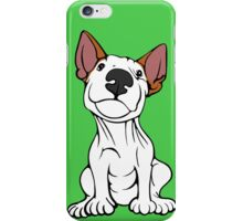 Cheeky English Bull Terrier Lola  iPhone Case/Skin