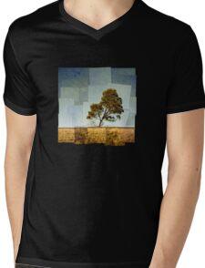 Abstract Landscape Mens V-Neck T-Shirt