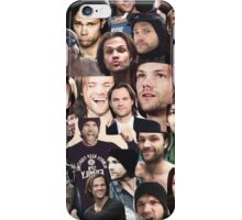 Jared Padalecki Collage iPhone Case/Skin