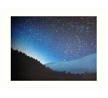 Blue Horizons II Art Print