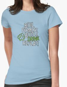 A Brewing We Will Go! Womens Fitted T-Shirt