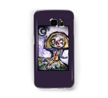 Creepy cute moon clown Samsung Galaxy Case/Skin